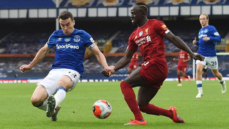 Everton have held Liverpool to a goalless draw in the Merseyside derby at Goodison Park