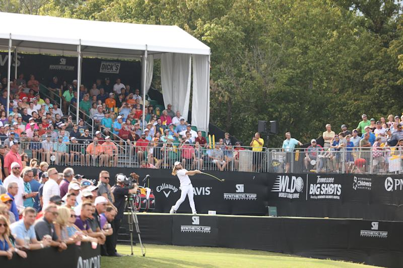 WLD Tennessee Big Shots -- Season: 2019 -- Pictured: World Long Drive Competitors- (Photo by: Cy Cyr/ Golf Channel)
