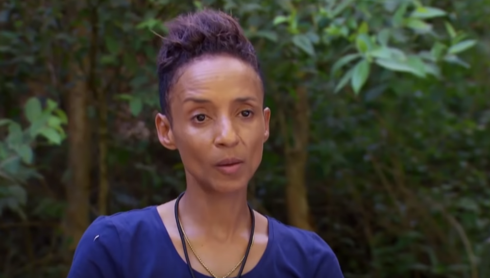 Adele Roberts was the first star to be voted off I'm A Celebrity...Get Me Out Of Here!. (ITV)