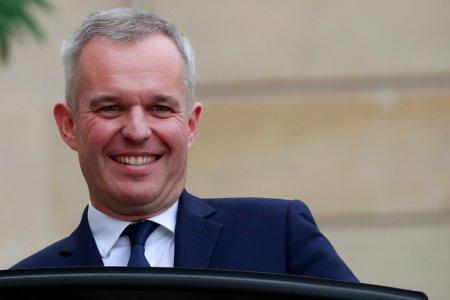 FILE PHOTO: Francois de Rugy, French Minister for the Ecological and Inclusive Transition, leaves following the weekly cabinet meeting at the Elysee Palace in Paris, France, October 17, 2018. REUTERS/Gonzalo Fuentes