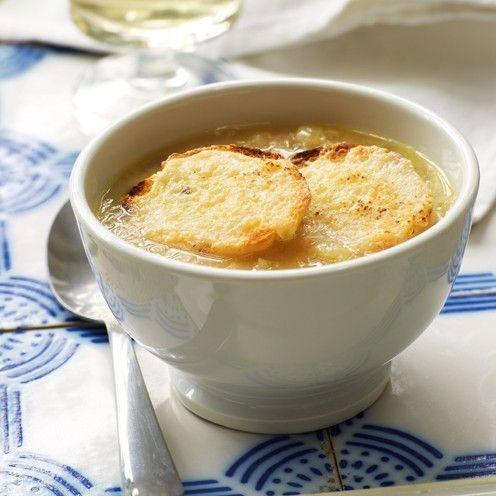 "<p>This slow cooker French onion soup recipe helps make the onions meltingly delectable.</p><p><strong>Recipe: <a href=""https://www.goodhousekeeping.com/uk/food/recipes/a537050/slow-cooker-french-onion-soup/"" rel=""nofollow noopener"" target=""_blank"" data-ylk=""slk:Slow Cooker French Onion Soup"" class=""link rapid-noclick-resp"">Slow Cooker French Onion Soup</a></strong></p>"