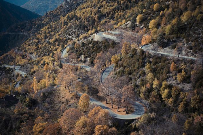 Rising some 5,300 feet, the <strong>Col de Turini</strong> is among the highest mountain passes in the Alps. Situated in France, the passageway lies near the borders of France, Italy, and Monte Carlo.