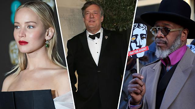 Jennifer Lawrence, Stephen Fry and BAFTA protestors have all had reasons to be upset.