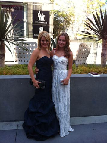 Candace Cameron Bure and her daughter Natasha