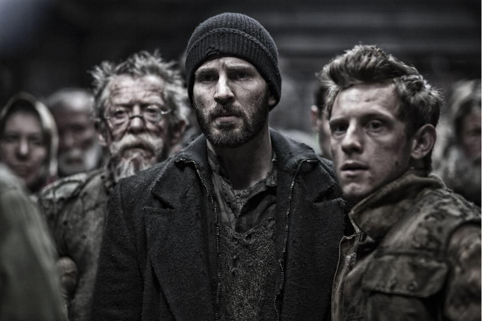 The film stars Chris Evans and Jamie Bell