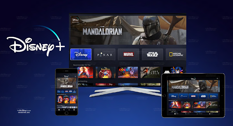 Disney's Star Wars The Mandalorian on multiple devices