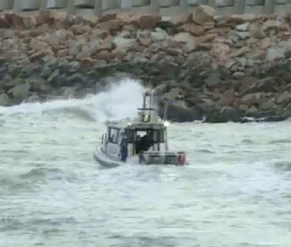 A massive land, sea and air rescue effort was deployed after the man disappeared Wednesday. Source: NBN News