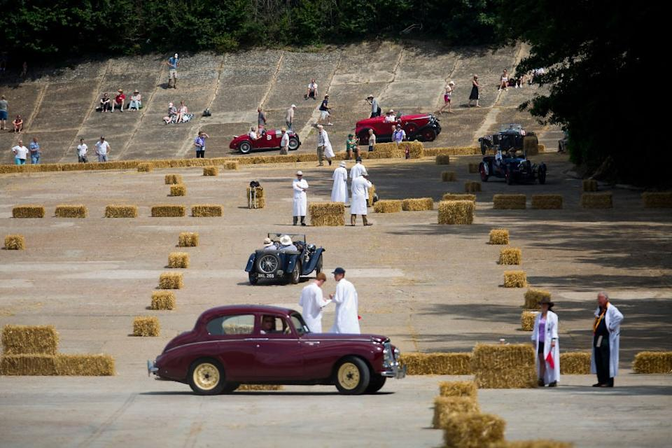 Classic cars at Brooklands - getty