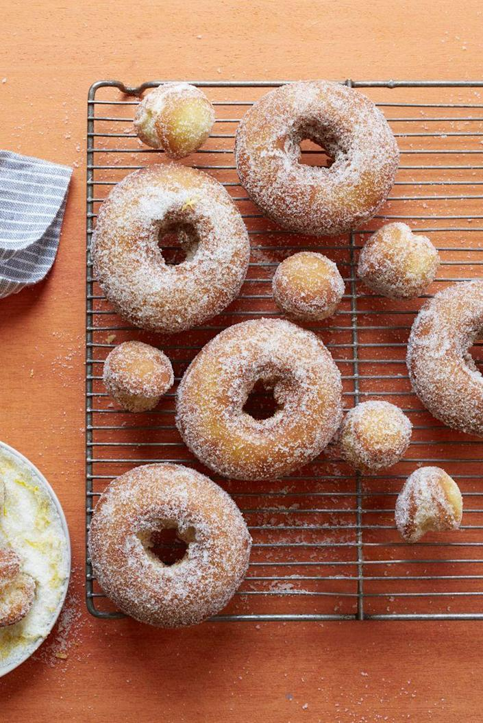 """<p>While this treat doesn't <em>look </em>as spooky, it's frighteningly delicious. </p><p><strong><em><a href=""""https://www.womansday.com/food-recipes/food-drinks/recipes/a56193/potato-doughnuts-recipe/"""" rel=""""nofollow noopener"""" target=""""_blank"""" data-ylk=""""slk:Get the Potato Doughnuts recipe."""" class=""""link rapid-noclick-resp"""">Get the Potato Doughnuts recipe. </a></em></strong></p>"""