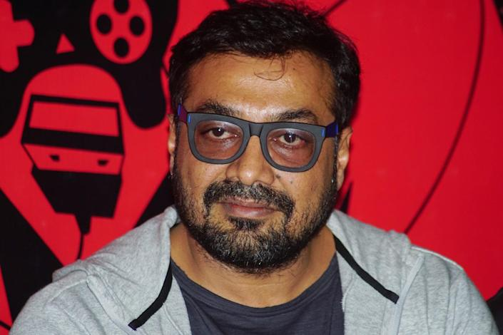 "MUMBAI, INDIA - MAY 30: Indian film director Anurag Kashyap attends the Trailer launch of the movie""Game Over"" on May 30, 2019 in Mumbai, India. (Photo by Prodip Guha/Getty Images)"