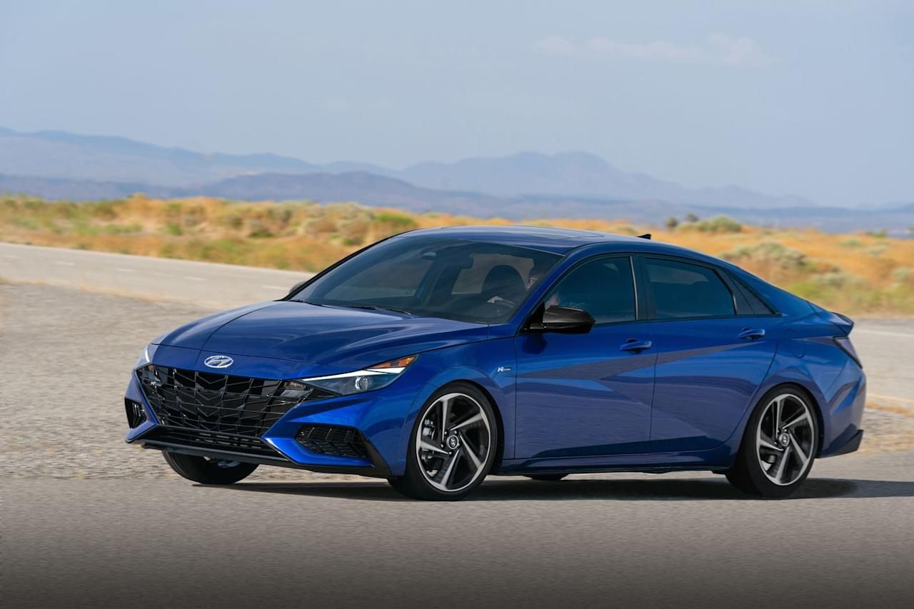 """<p>The new model is """"designed and engineered to deliver more enhanced driving fun to the bold new Elantra that launched in April.""""</p>"""