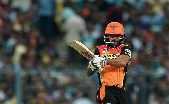 Shikhar Dhawan was a part of SRH