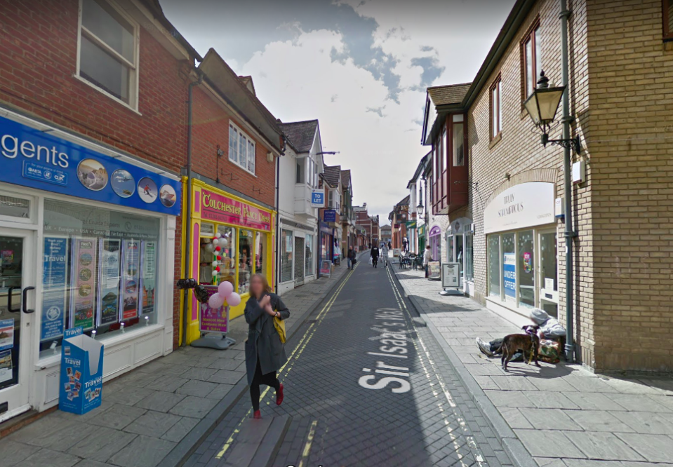<em>The theft took place at a printing shop in Colchester, Essex (Google)</em>