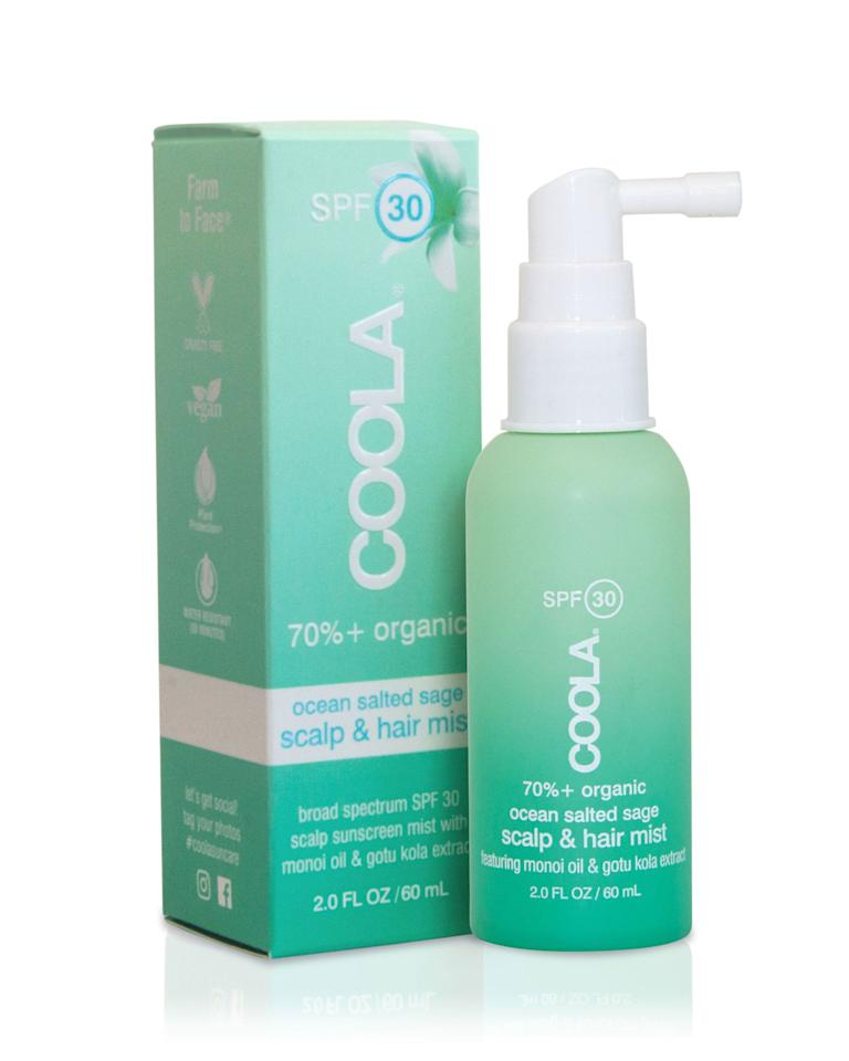 """<p><strong>Coola</strong></p><p>sephora.com</p><p><strong>$26.00</strong></p><p><a rel=""""nofollow"""" href=""""https://www.sephora.com/product/organic-scalp-hair-mist-spf-30-P429517"""">SHOP NOW</a></p><p>A sunscreen and moisturizer in one, simply spritz some on your scalp and through your hair before heading into the sun. The avobenzone protects your hair and scalp from UV rays while the panthenol serves as a natural moisturizer, strengthening your hair and keeping it healthy.</p>"""