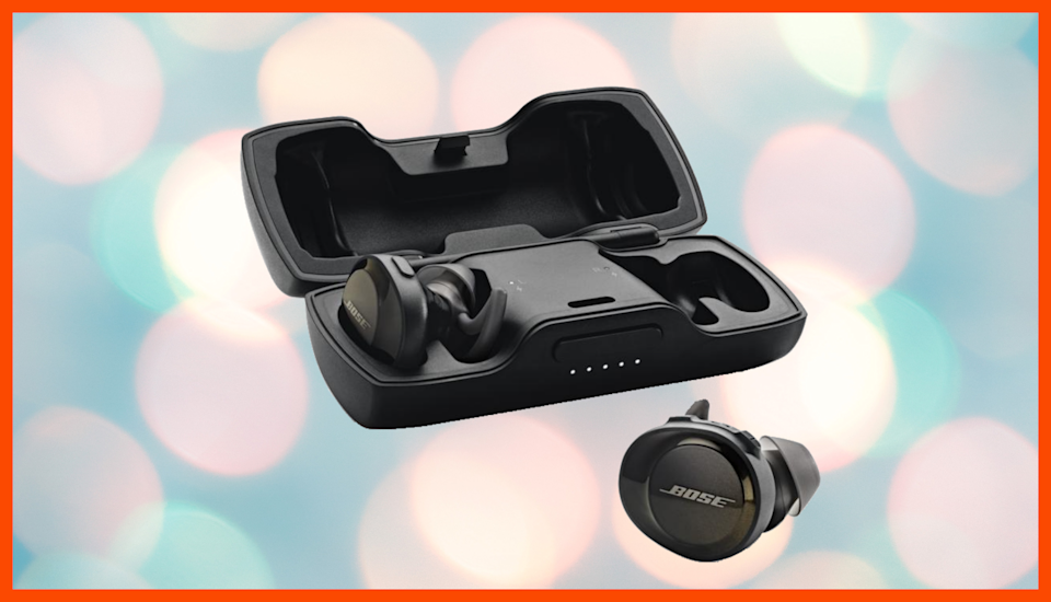 Save $40 on these Bose SoundSport Free wireless earbuds. (Photo: Bose)