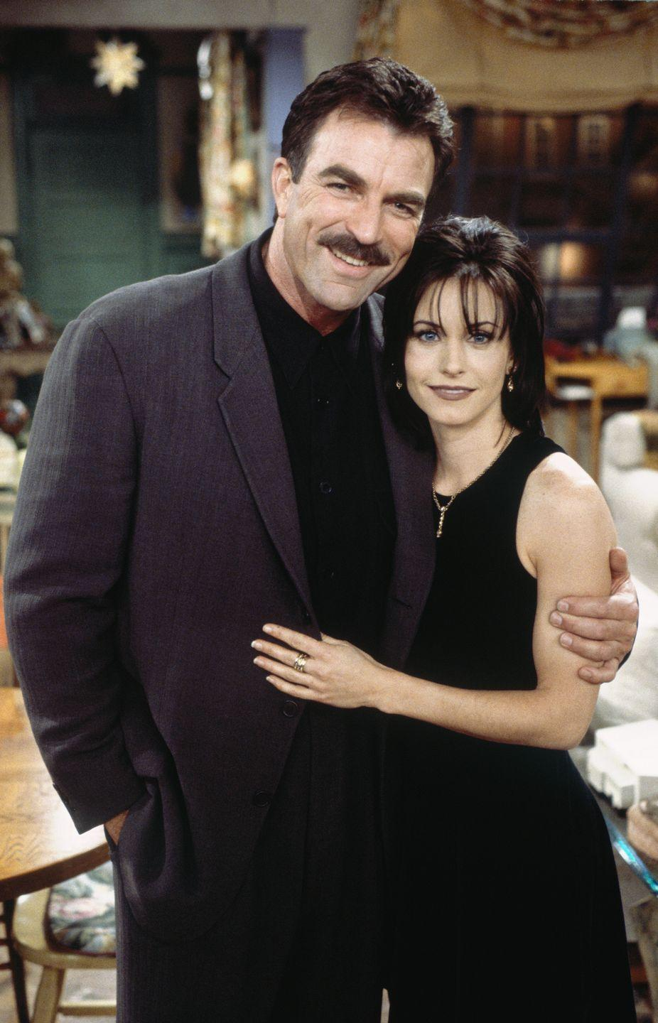 <p>Although the role of Richard Burke, Monica's on-again, off-again older boyfriend, is one of Tom's most notable roles, the actor had an established career before joining<em>—</em>Tom (and his mustache!) was a household name thanks to his role in the '80s show <em>Magnum P.I. </em></p>