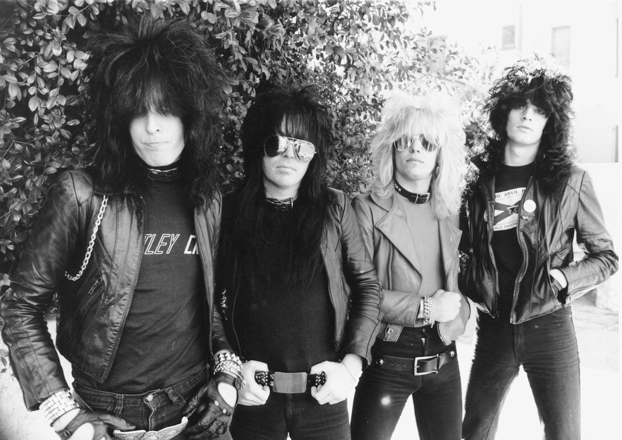 <p>Mötley Crüe was formed in Los Angeles by Nikki Sixx, Tommy Lee, Vince Neil, and Mick Mars in 1981. </p>