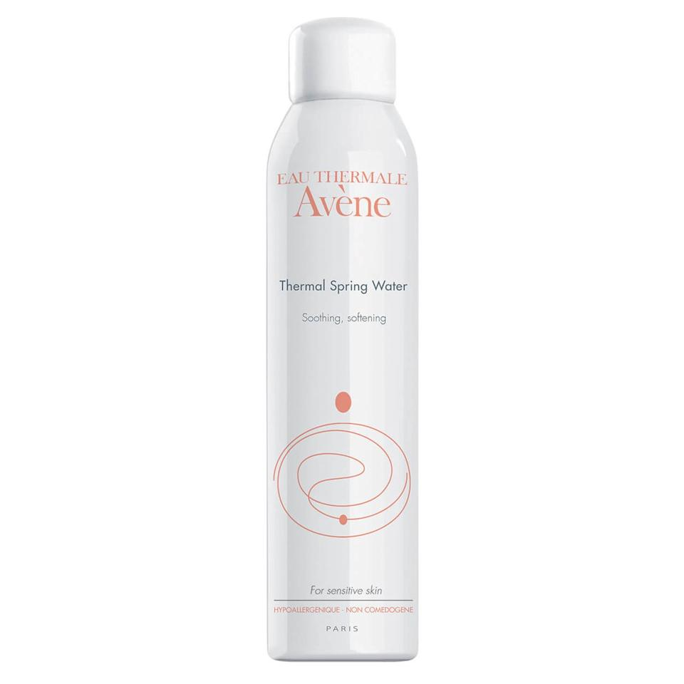 """<p>This hydrating facial mist will be in my purse from now until Labor Day — I take it <em>everywhere</em> because it's great for soothing hot, irritated skin, aka my face all summer long. The can is filled with thermal spring water from Avène, France — hence the name. The water there is naturally rich in minerals to help nourish sensitive skin like mine. (And since it's truly only water, it's fragrance free.) It takes only two or three spritzes to revive my face when it's hotter than hot out. But even in our air-conditioned offices, I often reach for it when I hit an afternoon slump. It instantly refreshes my makeup — and my mood — and makes me look dewy quickly. Which is more than I can say for coffee. — <em>Sarah Kinonen, Associate Digital Beauty Director</em></p> <p><strong>Value:</strong> <a href=""""https://www.allure.com/review/avene-thermal-spring-water-review?mbid=synd_yahoo_rss"""">Eau Thermale Avène Thermal Spring Water</a>, $18.50.</p> <p><strong><a href=""""http://beautybox.allure.com/?source=EDT_ALB_JUNE_2019_GALLERY_UNBOXING_Avene"""">Subscribe Now.</a></strong></p>"""