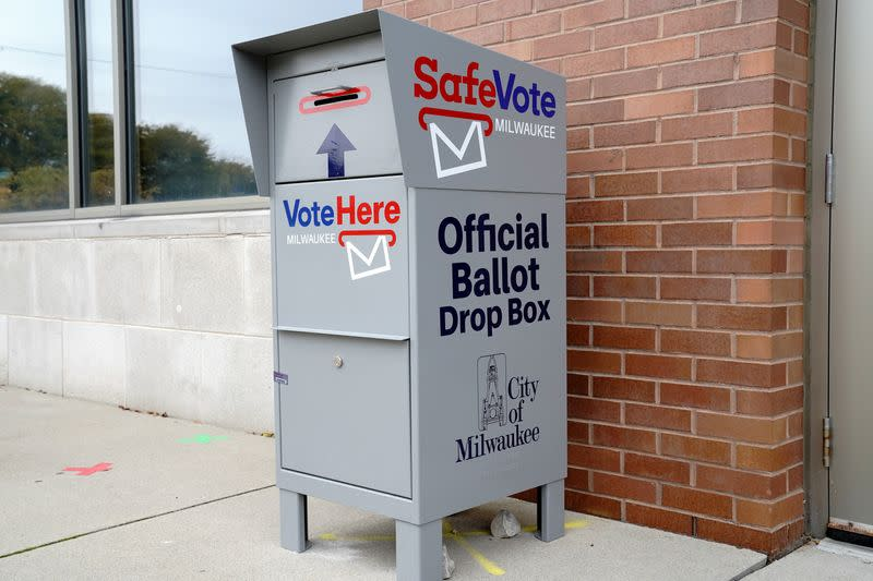 FILE PHOTO: In-person early voting in Milwaukee