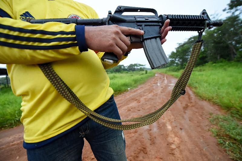 FARC guerillas once operated in Guaviare department due to the abundance of drug crops and its strategic position for controlling drug trafficking
