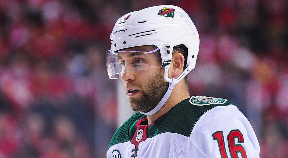 Jason Zucker of the Minnesota Wild had some pointed things to say following his squad's 4-0 defeat at the hands of the Montreal Canadiens. (Photo by Derek Leung/Getty Images)