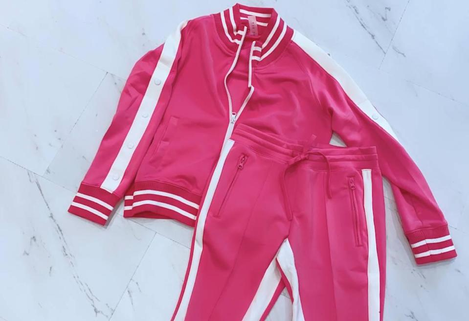 Local boutique Captivate has added more comfortable items to its inventory, including short sweatsuits.