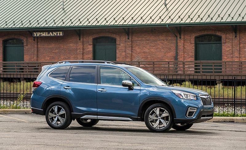 """<p>Fresh off a redesign for 2019, <a rel=""""nofollow"""" href=""""https://www.caranddriver.com/subaru/forester"""">the Forester</a> is enjoying strong sales so far in 2019, with its total so far representing a 9.6 percent increase over last year.</p>"""
