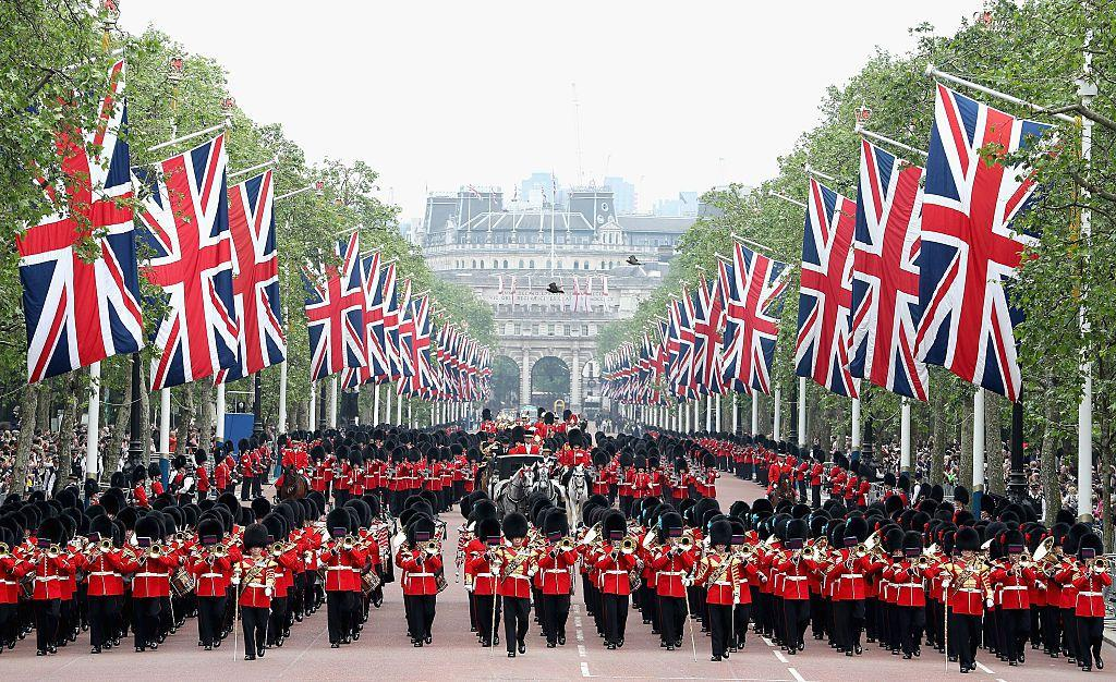 "<p>Every year, the Queen of England celebrates her birthday within the first weeks of June. Although her real birthday is April 21, this celebration is known as Trooping the Colour and has been an annual ceremony for over 250 years. <a href=""http://www.townandcountrymag.com/society/tradition/a10016954/trooping-the-colour-facts/"" target=""_blank"">The tradition dates all the way back to King George II</a>, who in 1748 combined the annual summer military march with his birthday celebration-even though he was born in October. Ever since, the reigning monarch has had the option of throwing their official birthday parade  in the summertime.</p><p>Through fainting Guardsmen to torrential downpours, the event stops for nothing. In honor of this year's Trooping the Colour celebration (and the Queen's 92nd birthday), we're taking a look back at all the ceremonies over the past two centuries. </p><p><em>The 2019 Trooping the Colour Ceremony was held on Saturday, June 8.</em></p>"