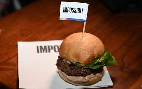 The Impossible Burger - Credit: Robyn Beck/AFP/Getty Images