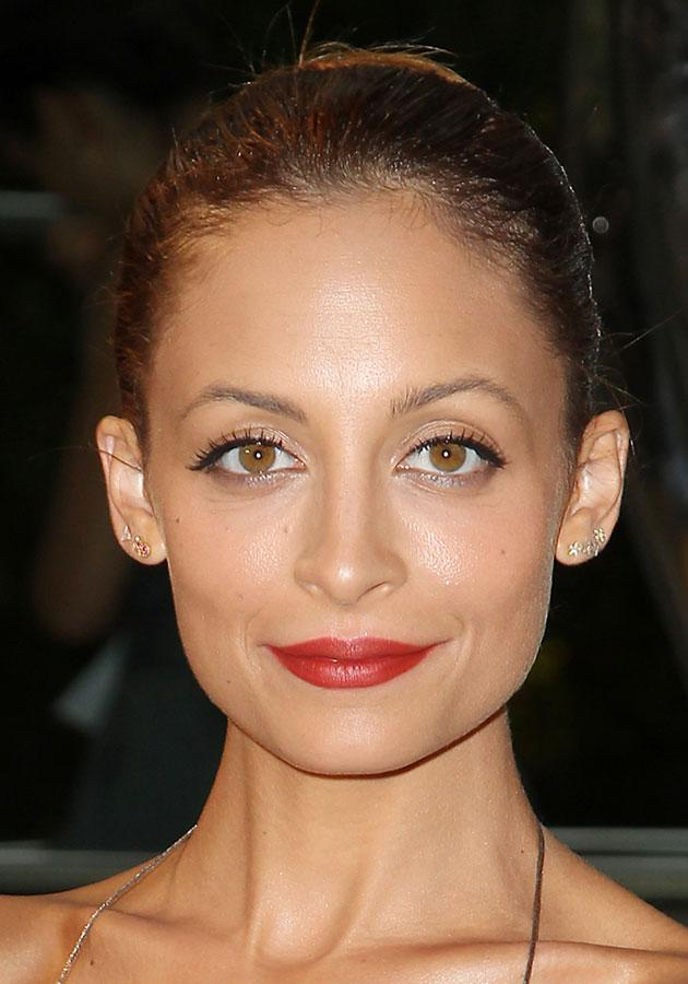 Nicole Richie wore this red lipstick to the CFDA Awards. [Rex]