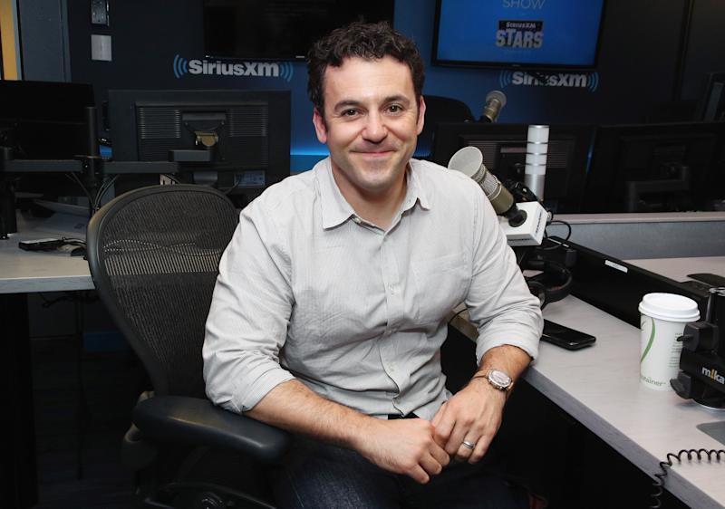 NEW YORK, NEW YORK - JULY 23: (EXCLUSIVE COVERAGE) Actor Fred Savage visits the SiriusXM Studios on July 23, 2019 in New York City. (Photo by Astrid Stawiarz/Getty Images)
