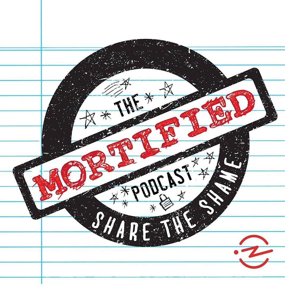 """<p>We've all got that one embarrassing slip-up that happened in eighth grade but still keeps us up at night. Guests on this podcast read their childhood journals that cover the awkward, the mortifying, and the funny moments that make up our lives. Share the shame and realize that even your worst moment probably wasn't that bad.</p><p><a class=""""link rapid-noclick-resp"""" href=""""https://podcasts.apple.com/us/podcast/the-mortified-podcast/id964902342"""" rel=""""nofollow noopener"""" target=""""_blank"""" data-ylk=""""slk:LISTEN NOW"""">LISTEN NOW</a></p>"""