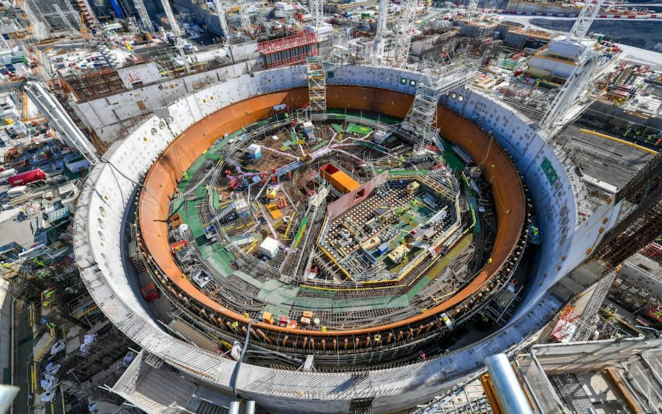 EDF and CGN are also building Hinkley Point C in Somerset