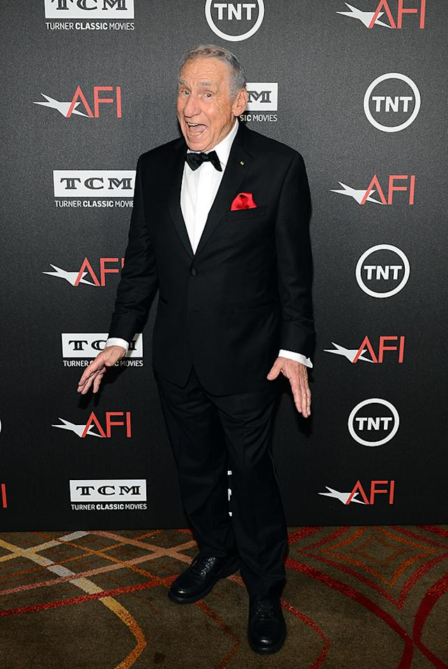 HOLLYWOOD, CA - JUNE 06:  Honoree Mel Brooks attends AFI's 41st Life Achievement Award Tribute to Mel Brooks at Dolby Theatre on June 6, 2013 in Hollywood, California. 23647_005_MD_0040.JPG  (Photo by Mark Davis/WireImage)
