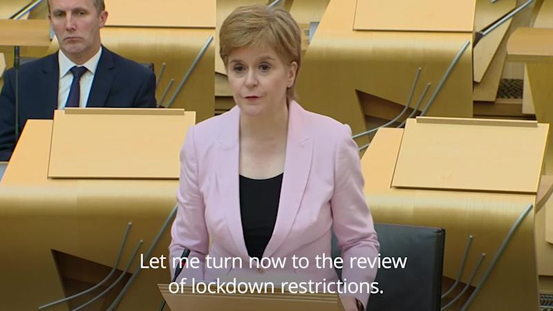 Sturgeon: Sport stadiums and music venues to reopen in Scotland from September