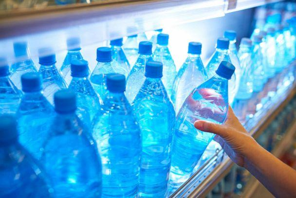 PHOTO: Bottles of water from a shelf. (STOCK PHOTO/Getty Images)