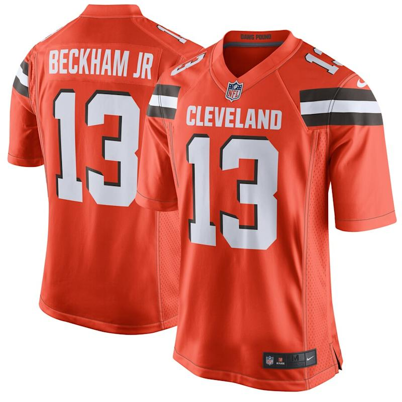 OBJ Browns Nike Game Jersey