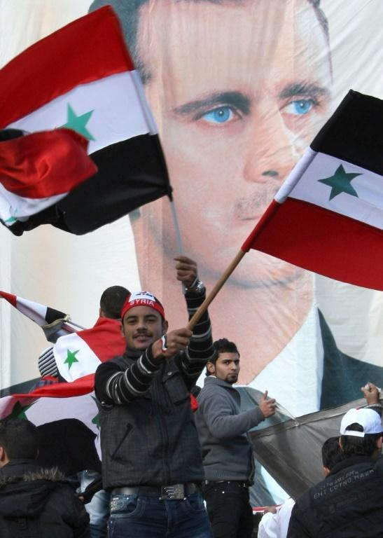 Assad benefitted from the absence of any effective political opposition, researchers say