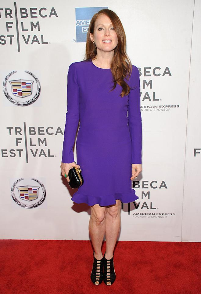 "Julianne Moore attends ""The English Teacher"" World Premiere during the 2013 Tribeca Film Festival on April 26, 2013 in New York City."