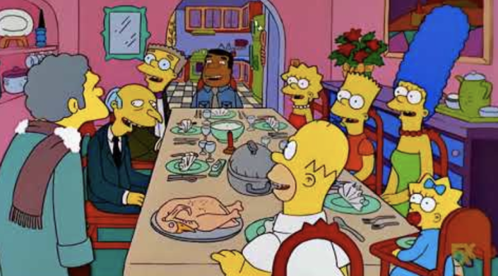 Zero wise men +  lots of laughs = The Simpsons' 'Grift of the Magi' (Photo: Disney)