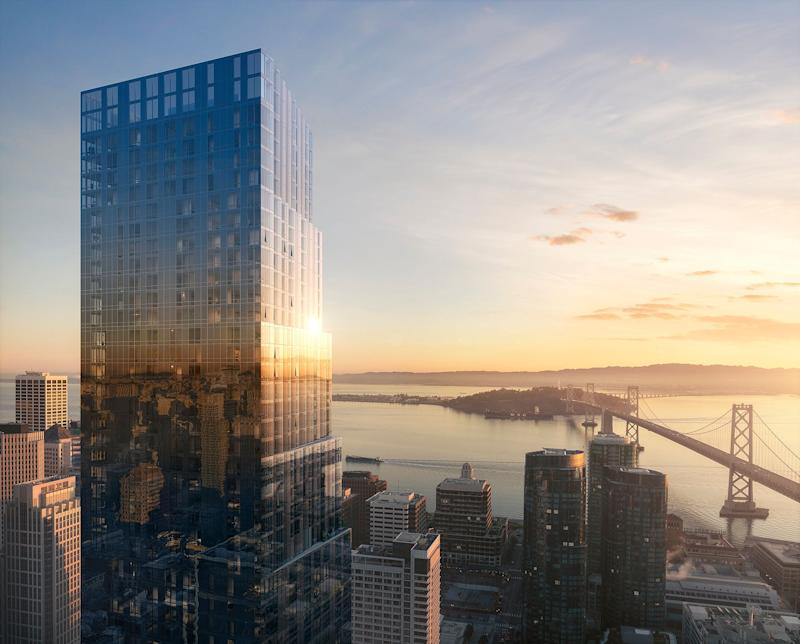 The Avery in San Francisco finishes construction this summer.