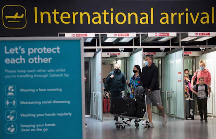 <p>Portugal was put on the 'amber list' in the early hours of 8 June </p> (PA)