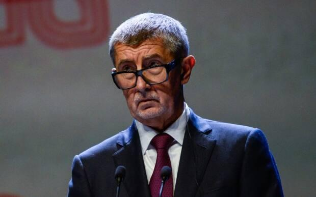 Andrej Babis, prime minister of the Czech Republic, is shown last September in Poland. In late February, he announced severe new restrictions, including compulsory mask-wearing and limiting movement to a person's local district. Most shops, with the exception of food stores, are closed.
