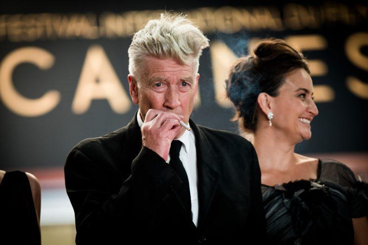 Lynch… is not giving up making movies after all – Credit: Getty