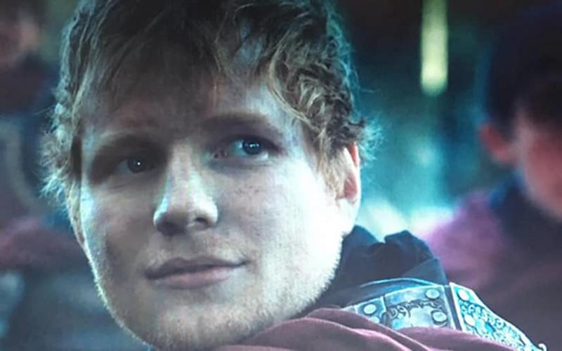 Ed Sheeran posted a picture of himself in game of Thrones on Instagram - Credit: Ed Sheeran/Instagram