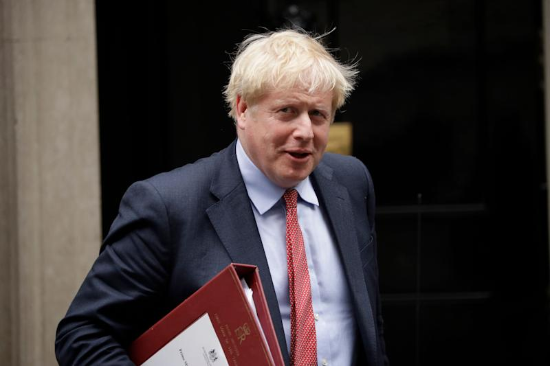 Boris Johnson was hospitalised with Covid-19 in April (Photo: ASSOCIATED PRESS)