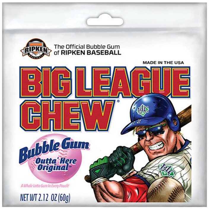 """<p><strong>Big League Chew</strong><br></p><p>Former Portland Mavericks left-hander Rob Nelson is the mastermind behind this unique, shredded gum. As the <a href=""""http://bigleaguechew.com/"""" rel=""""nofollow noopener"""" target=""""_blank"""" data-ylk=""""slk:#1 shredded gum in the world"""" class=""""link rapid-noclick-resp"""">#1 shredded gum in the world</a>, baseball fans everywhere are still chewing on this everyday. </p>"""