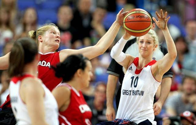 Amy Conroy, right, could play a key role for Great Britain's wheelchair basketball team