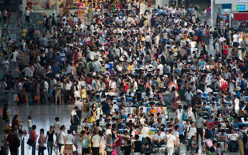 Various offenses could block Chinese people from flights and trains.
