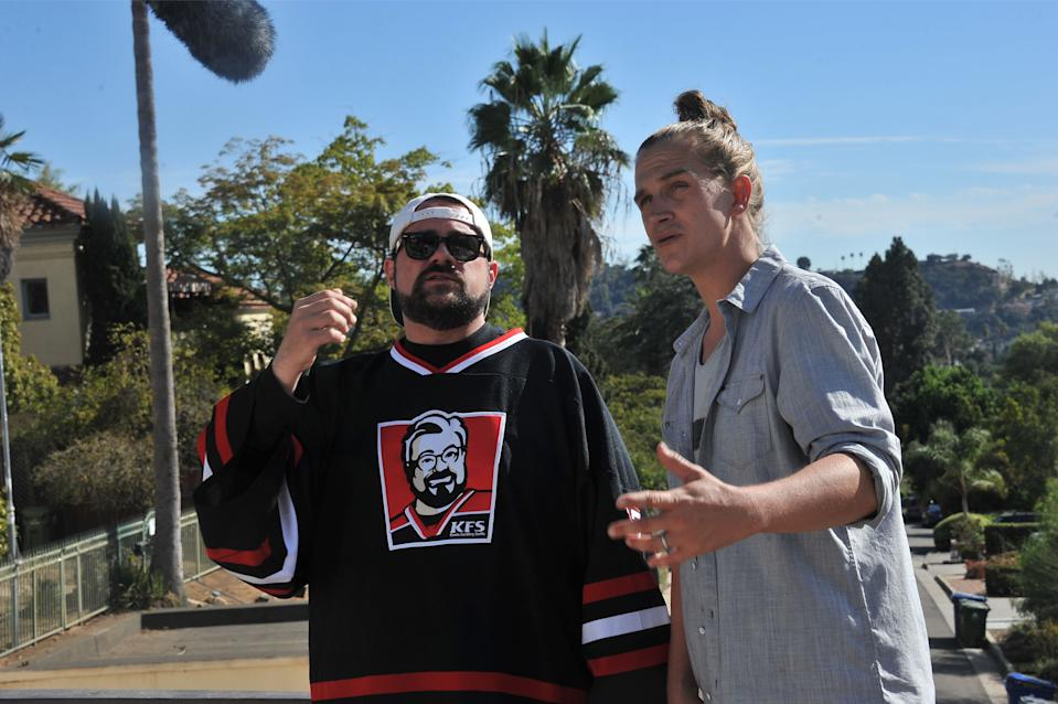 Kevin Smith and Jason Mewes in Madness in the Method.